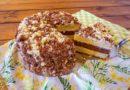 Домашний торт девичий - нарезаем торт на порции