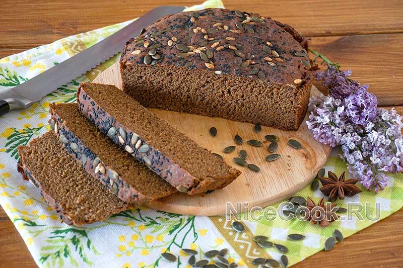 Домашний бородинский хлеб в духовке - готовый хлеб