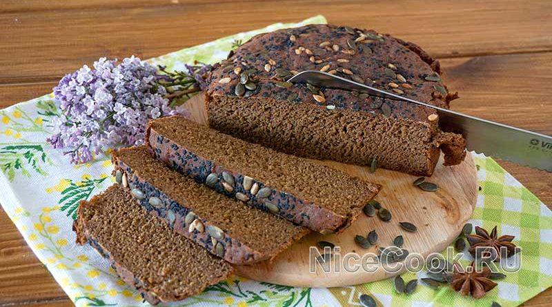Домашний бородинский хлеб в духовке - нарезаем хлеб