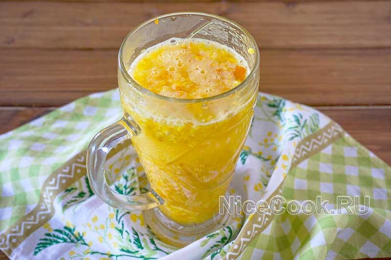 Домашний лимонад из замороженных апельсинов - настаиваем апельсиновый напиток