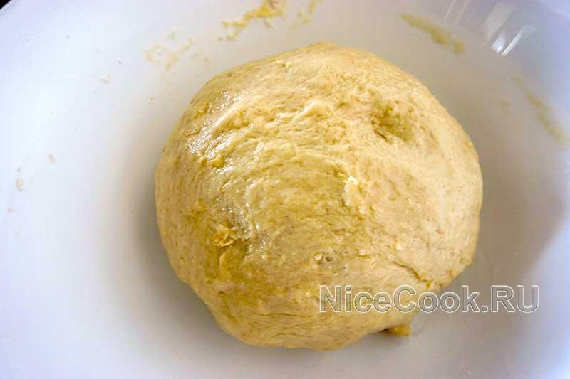 Сдобное бездрожжевое тесто - готовое тесто